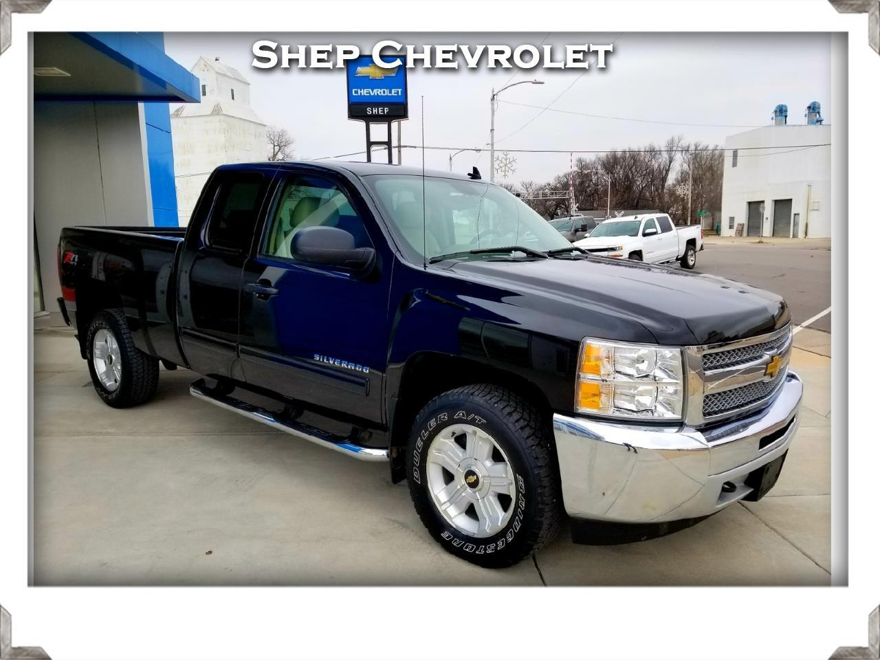 2013 Chevrolet Silverado 1500 4wd Ext. Cab LT Z71 w/ All Star Edition