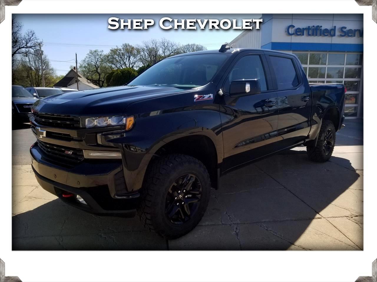 "2019 Chevrolet Silverado 1500 4WD Crew Cab 147"" LT Trail Boss"