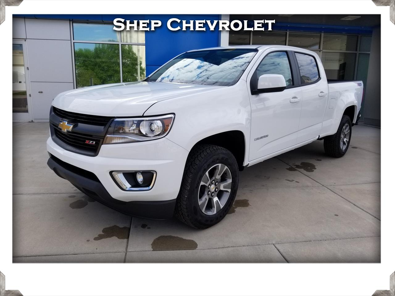 "2019 Chevrolet Colorado 4WD Crew Cab 140.5"" Z71"