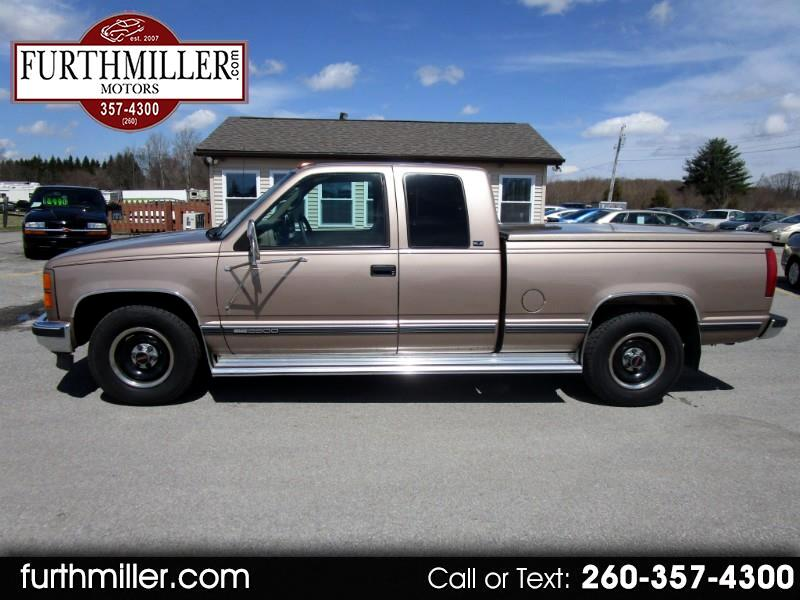 1996 GMC Sierra C/K 2500 Ext. Cab 6.5-ft. Bed 2WD