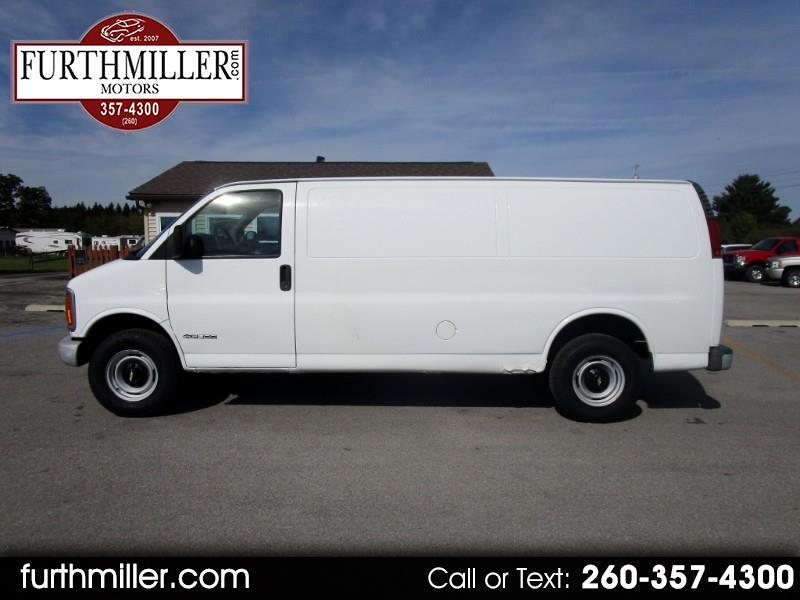 2000 Chevrolet Express 3500 Extended Cargo