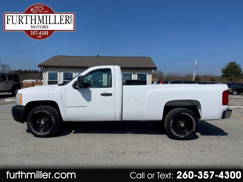 Chevrolet Silverado Classic 1500 Work Truck Long Box 2WD 2007