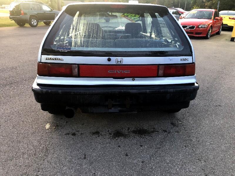1990 Honda Civic DX hatchback