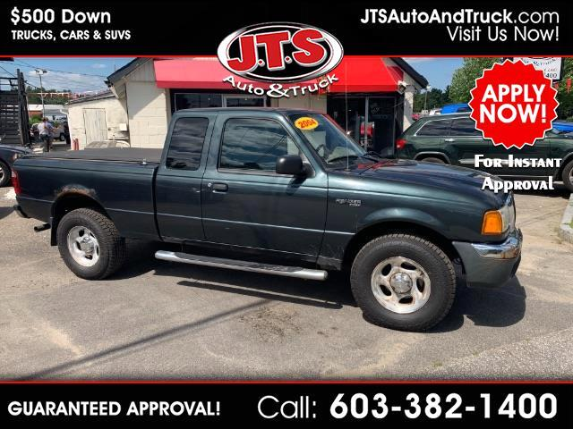 2004 Ford Ranger XLT SuperCab 4-Door 4WD