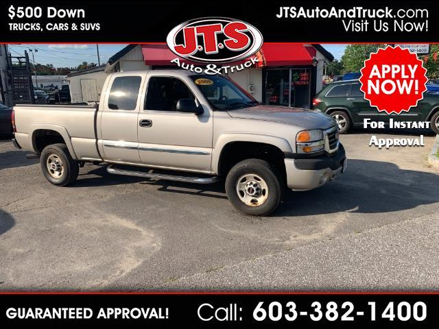2005 GMC Sierra 2500HD SLE Ext. Cab Short Bed 4WD