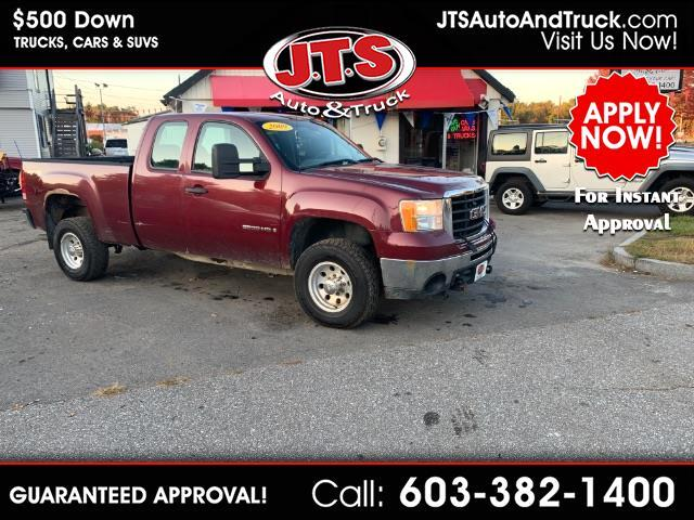 2009 GMC Sierra 2500HD Work Truck Ext. Cab Std. Box 4WD