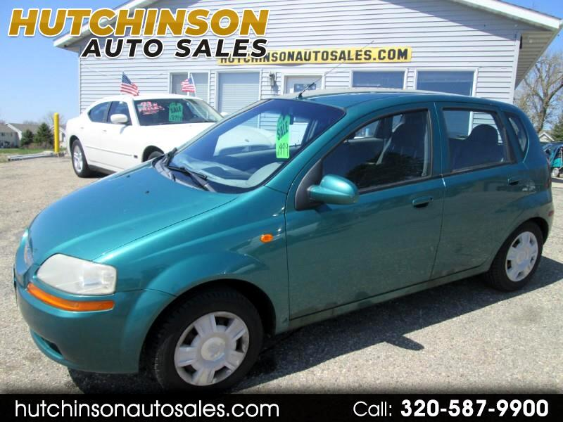2004 Chevrolet Aveo Base 5-Door