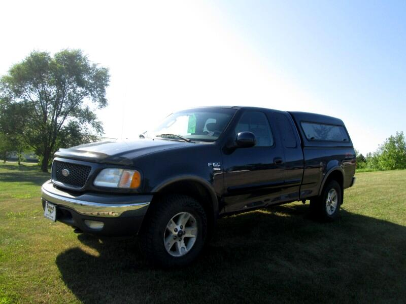 Ford F-150 Lariat SuperCab Long Bed 4WD 2002