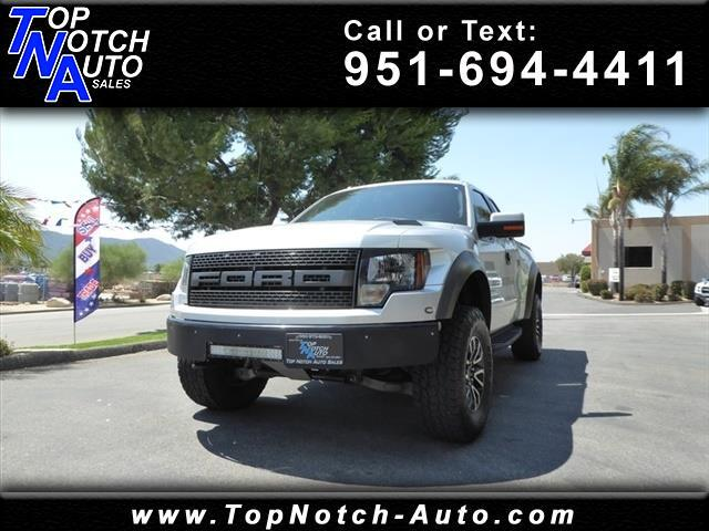 "2012 Ford F-150 4WD SuperCab 133"" SVT Raptor"