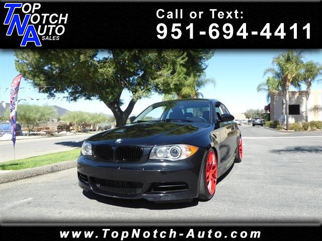 2009 BMW 1 Series 2dr Cpe 135i