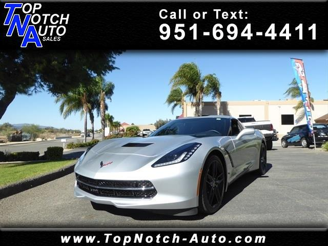 2018 Chevrolet Corvette 2dr Stingray Cpe w/2LT
