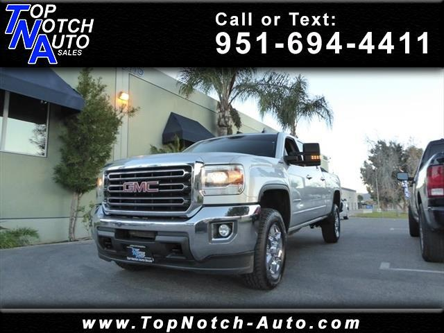 "2015 GMC Sierra 2500HD available WiFi 4WD Crew Cab 153.7"" SLE"