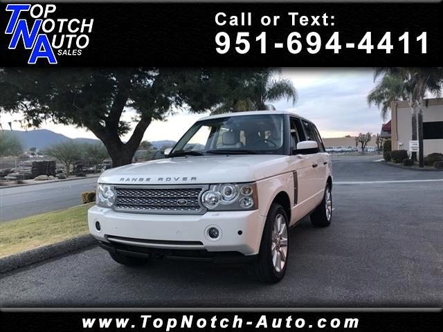 2008 Land Rover Range Rover 4WD 4dr Supercharged