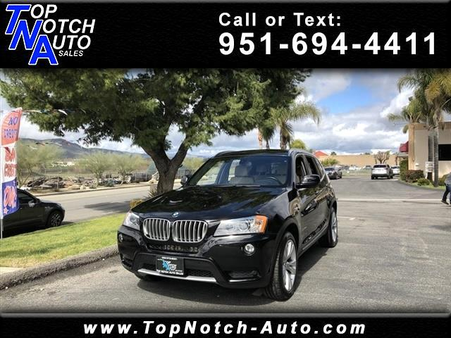 2013 BMW X3 AWD 4dr xDrive35i