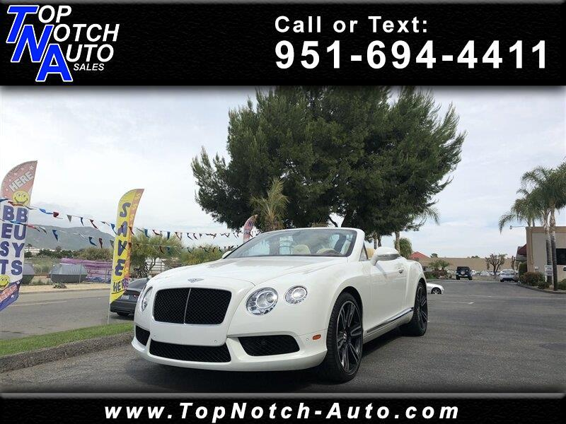2013 Bentley Continental GT V8 2dr Conv