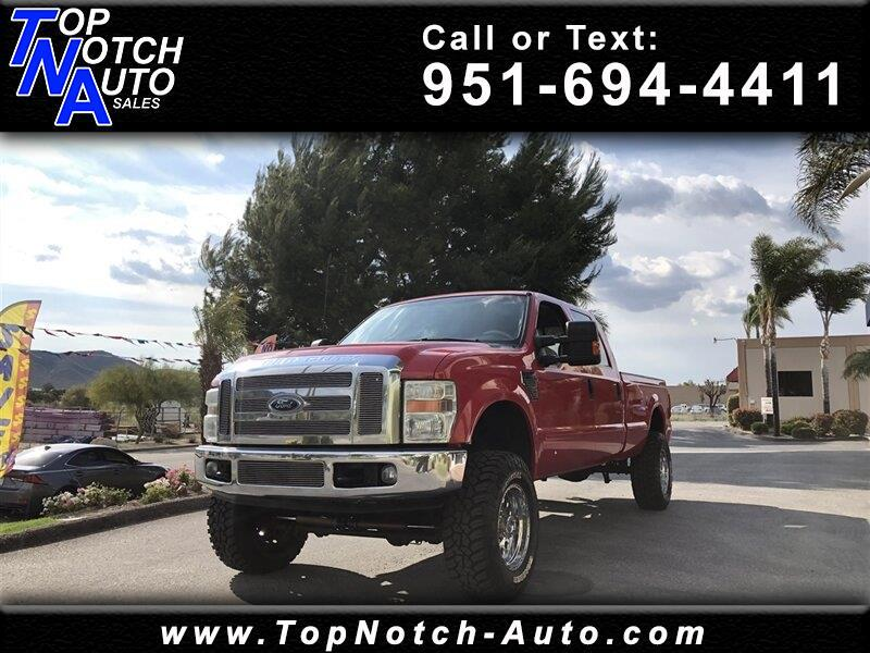 "2008 Ford Super Duty F-350 SRW 4WD Crew Cab 156"" XL"