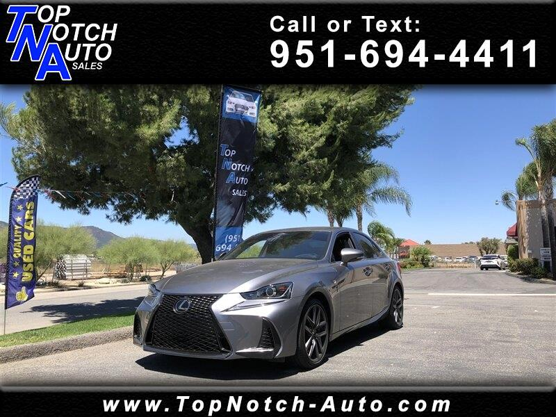 2018 Lexus IS IS 300 F Sport RWD