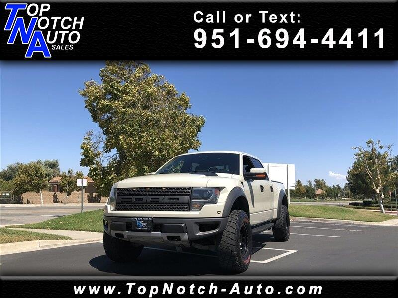 "2013 Ford F-150 4WD SuperCrew 145"" SVT Raptor"