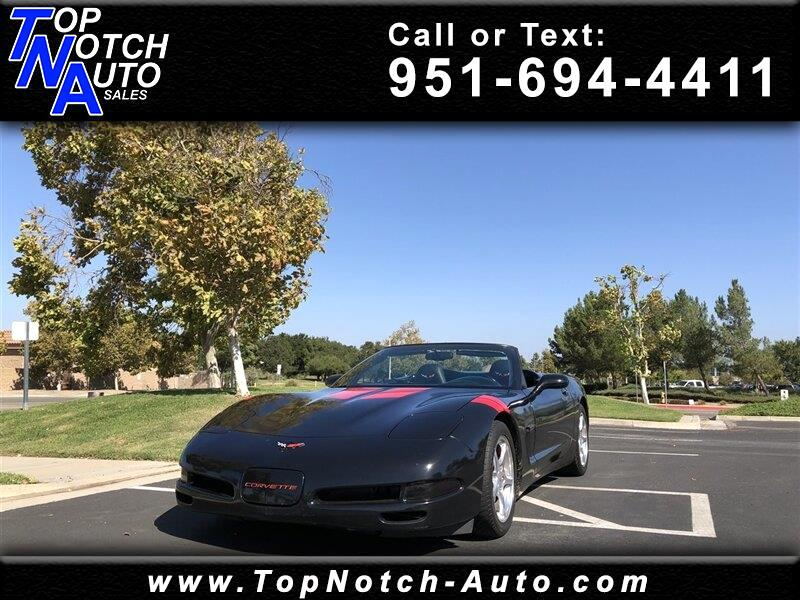 2000 Chevrolet Corvette 2dr Convertible