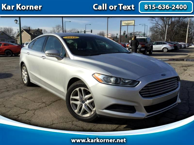 2016 Ford Fusion 4dr Sdn I4 SE