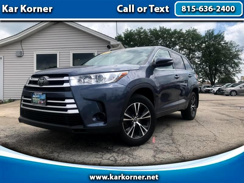 2018 Toyota Highlander LE Plus AWD V6