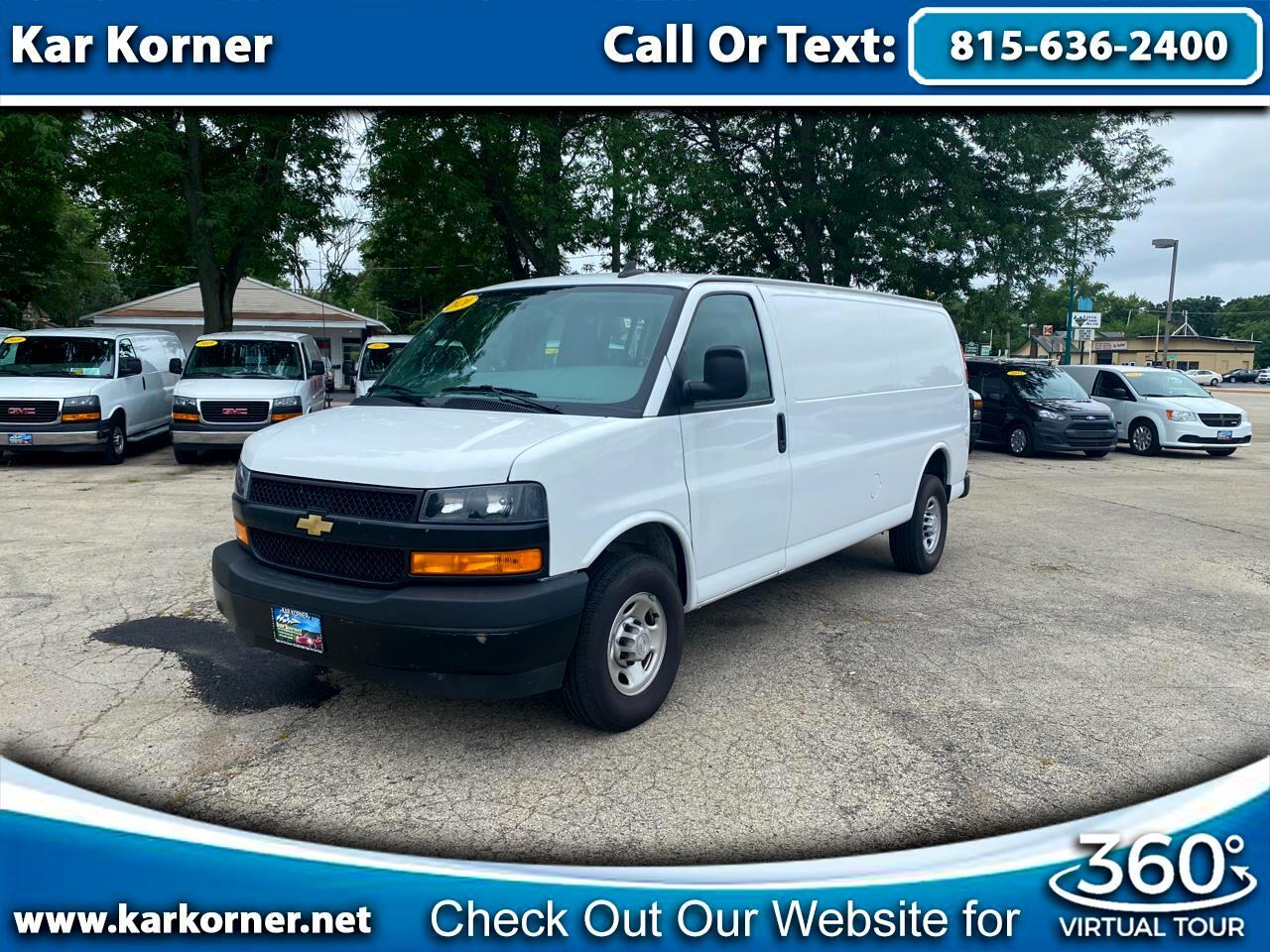 """Chevrolet Express Cargo Van RWD 2500 155"""" 2020"""