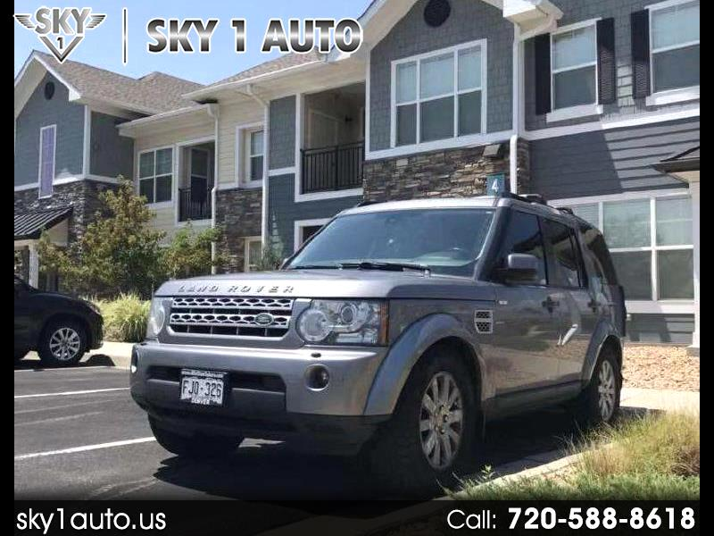2012 Land Rover LR4 4WD 4dr HSE