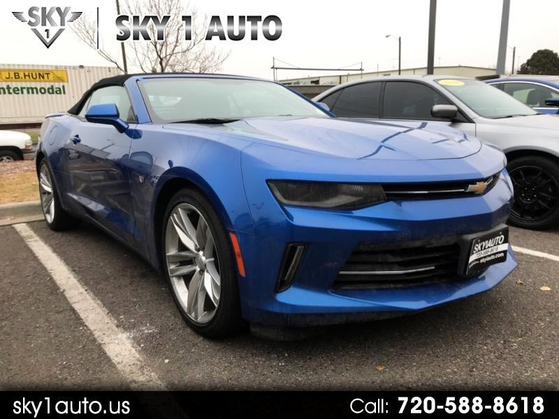 Chevrolet Camaro 2dr Convertible RS 2016