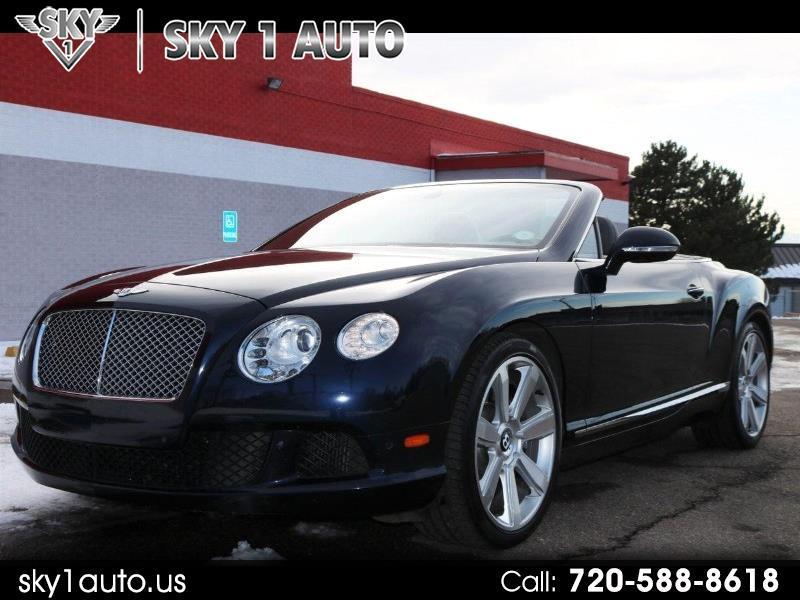 Bentley Continental GTC Convertible 2012
