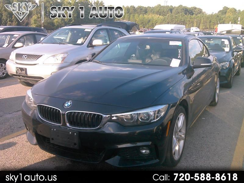 BMW 4-Series 430i xDrive SULEV Convertible 2018