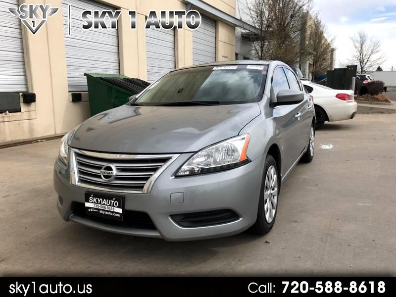2014 Nissan SENTRA/S/S S