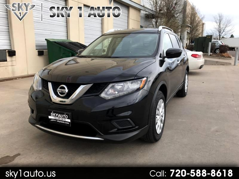 2016 Nissan Rogue AWD S