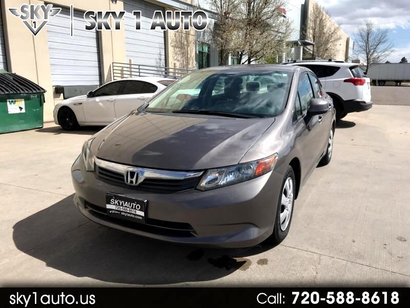 2012 Honda Civic 4dr Sdn LX Auto