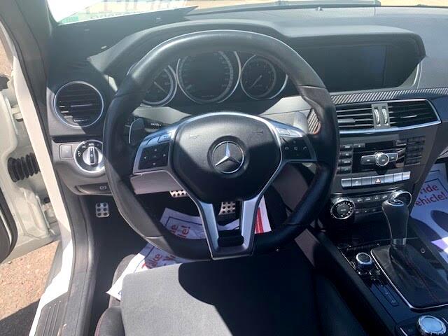 Mercedes-Benz C-Class C63 AMG Coupe 2012