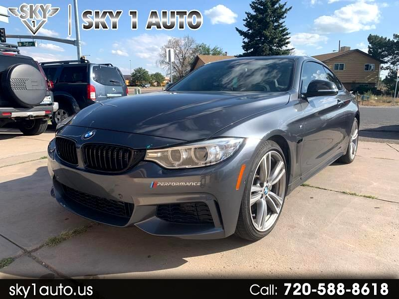 BMW 4-Series 435i coupe 2015