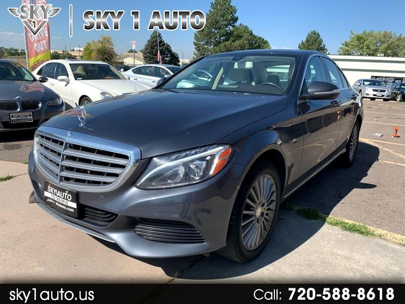 Mercedes-Benz C-Class 4dr Sdn C 300 Luxury 4MATIC 2015