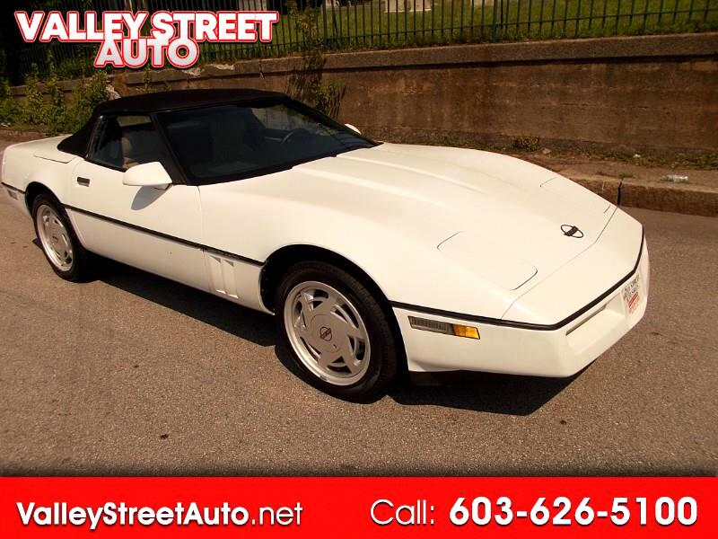 1989 Chevrolet Corvette 2LT Convertible
