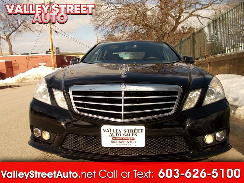 2010 Mercedes-Benz E-Class E350 Sedan 4MATIC Luxury