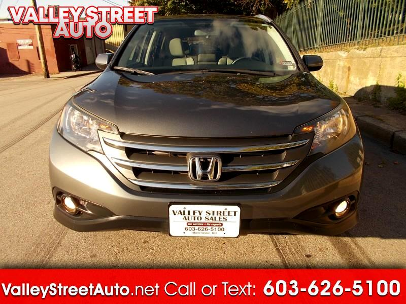 2012 Honda CR-V EX-L 4WD 5-Speed AT with Navigation