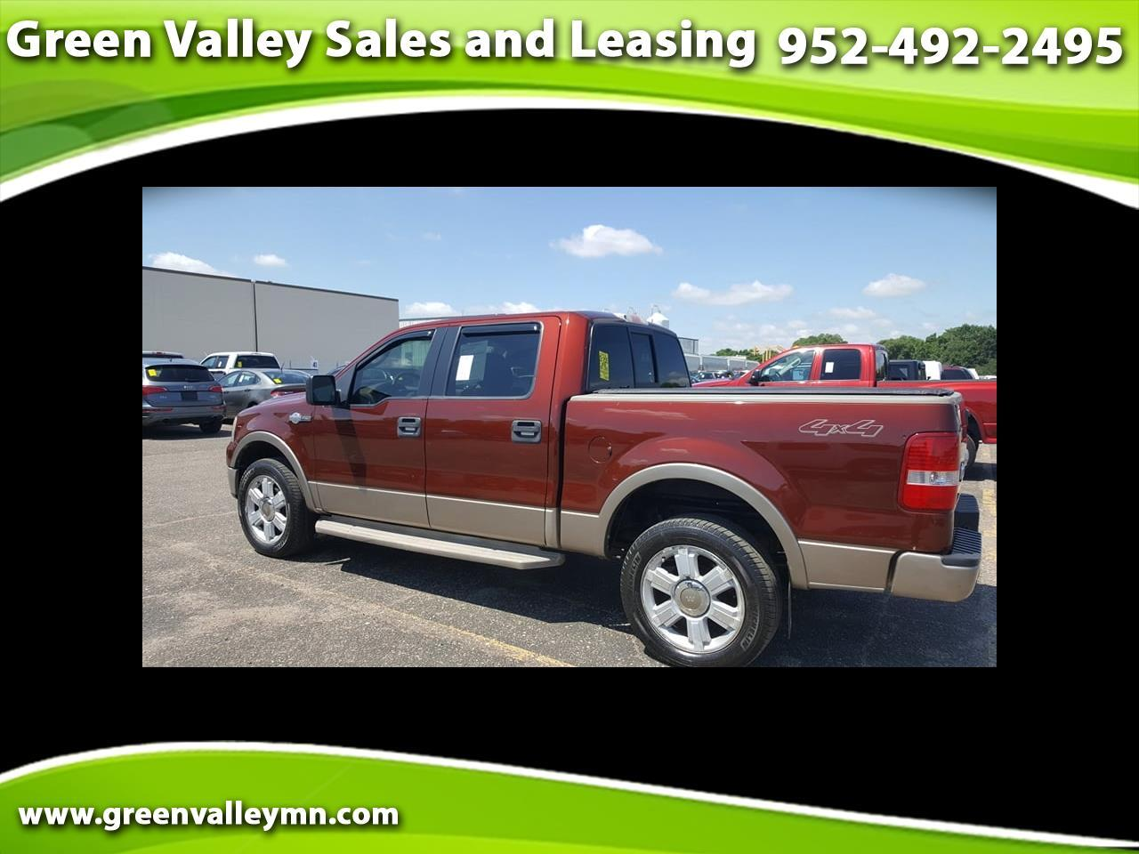 """2006 Ford F-150 SuperCrew 139"""" King Ranch 4WD"""