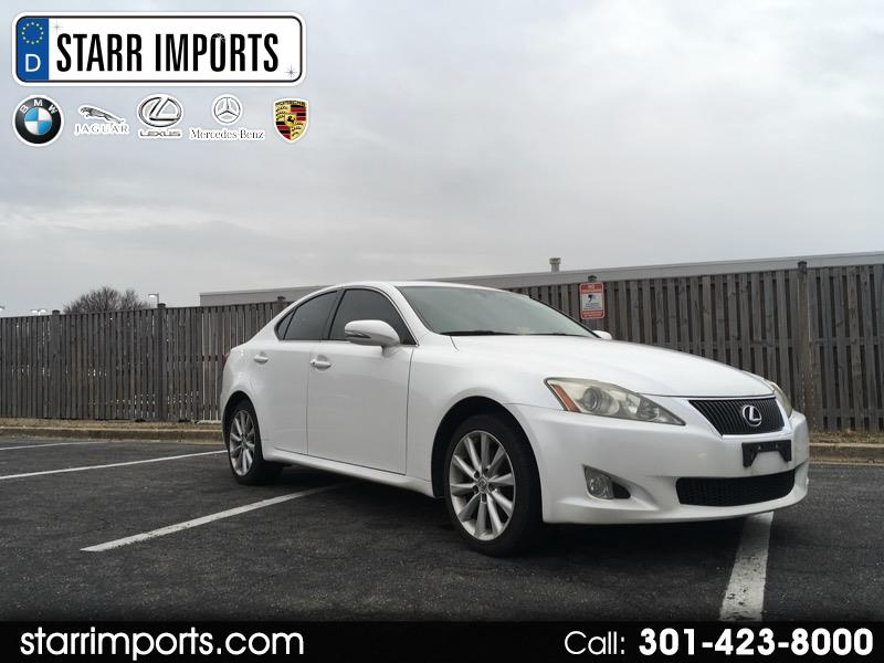 2009 Lexus IS 250 4dr Sport Sdn AWD