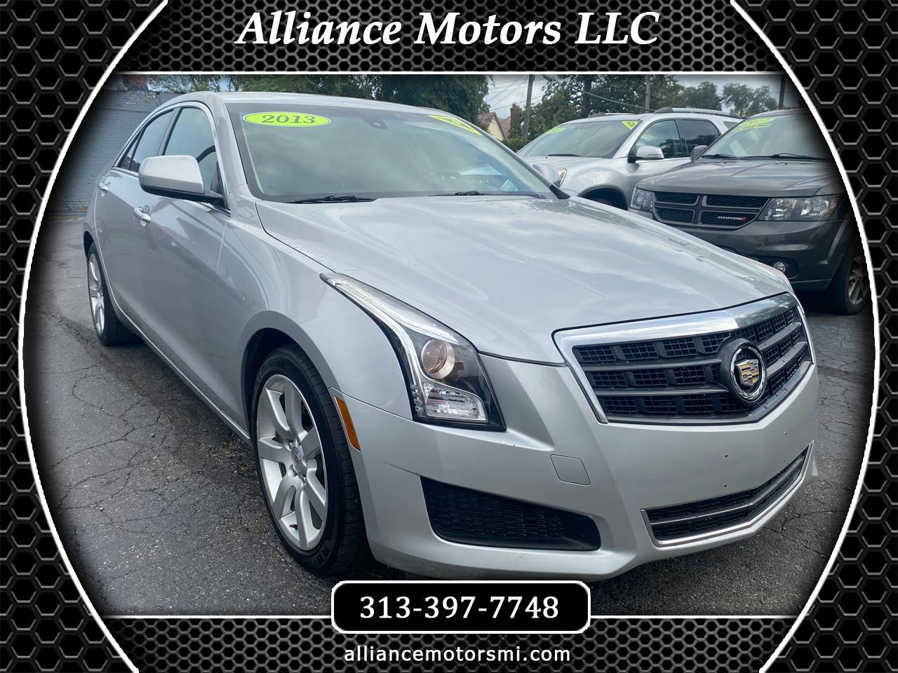 Cadillac ATS 4dr Sdn 2.5L RWD 2013