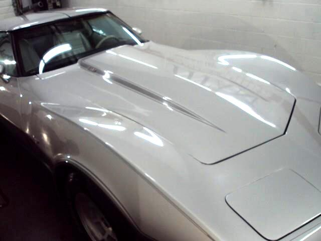 1978 Chevrolet Corvette 25th Anniversary, Silver Series, L82