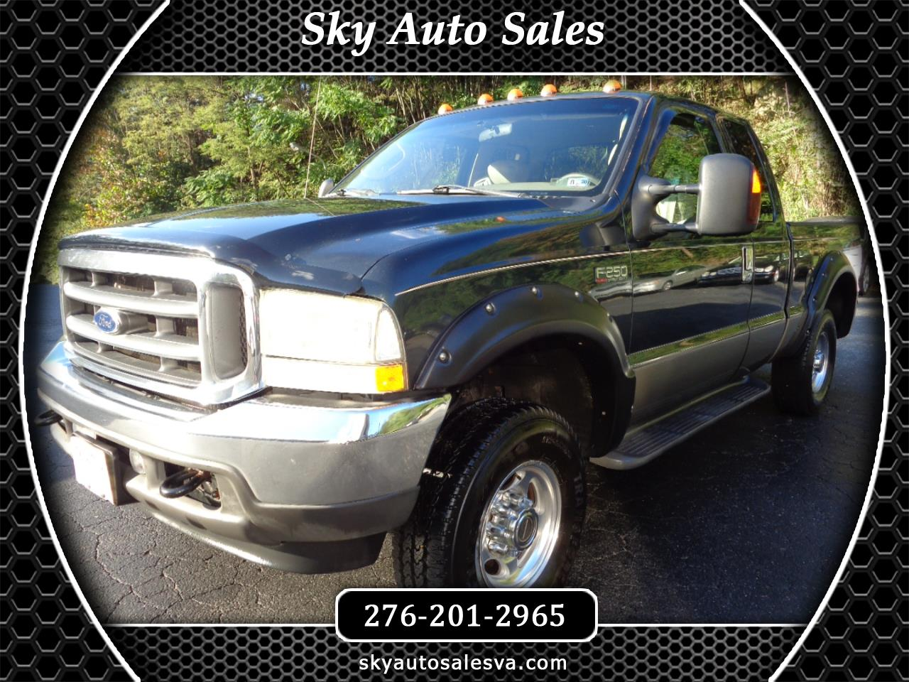 Ford F-250 SD Lariat SuperCab Long Bed 4WD 2004