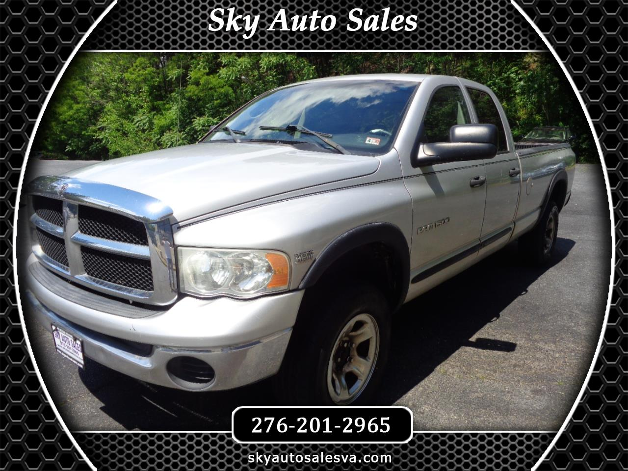 Dodge Ram 1500 Laramie Quad Cab Long Bed 4WD 2004