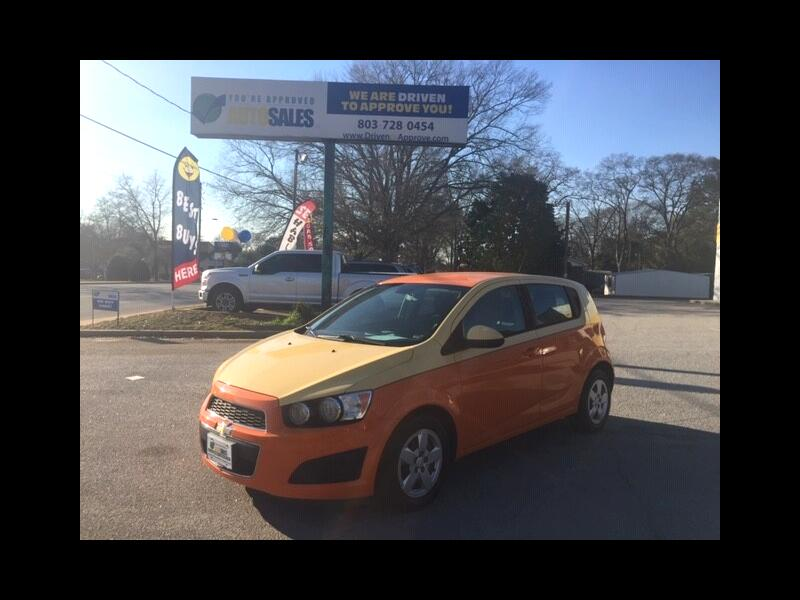 Chevrolet Sonic LS Auto 5-Door 2013