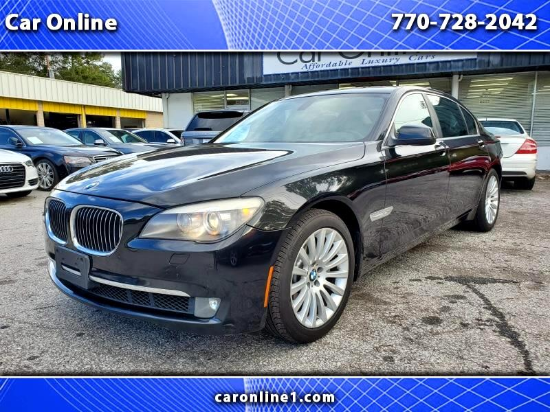 BMW 7-Series 750Li xDrive 2012