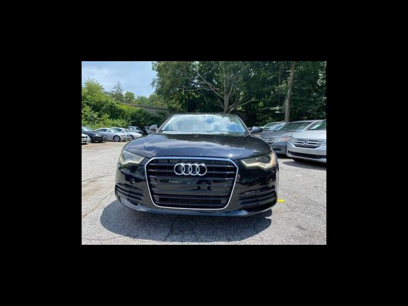 Audi A6 2.0T Premium Sedan FrontTrak Multitronic 2012