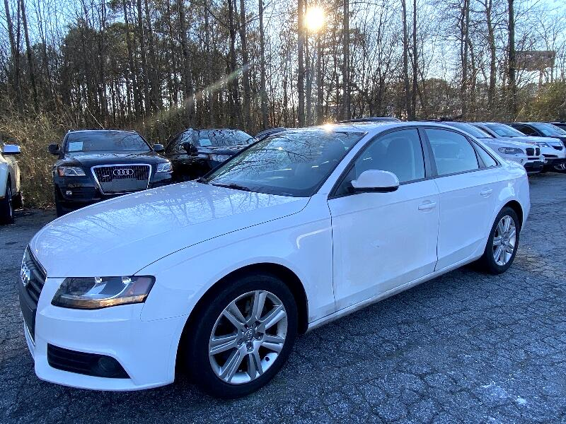 Audi A4 2.0 T Sedan FrontTrak Multitronic 2010