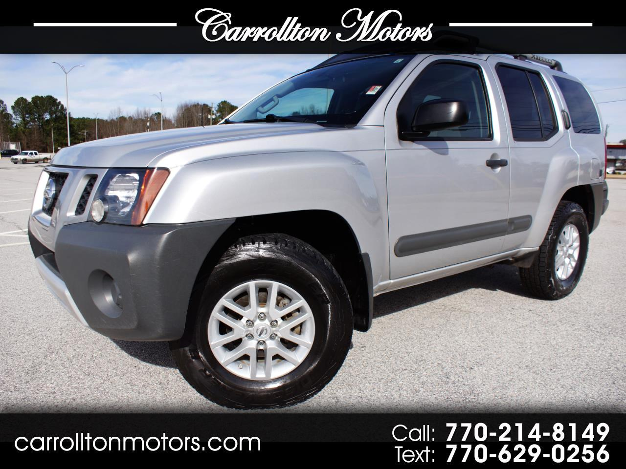 2014 Nissan Xterra S 5AT 4WD